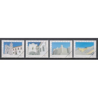 """Portugal - Architecture - Série neuve ** de 1994 surchargée """"spécimen"""""""