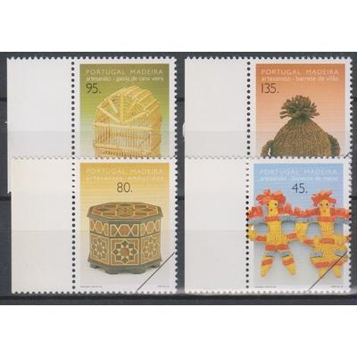 """Portugal - Artisanat - Série neuve ** de 1995 surchargée """"spécimen"""""""