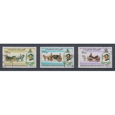 Mauritanie - Lady-Di - yt.477/79 oblitérés - Cote €2