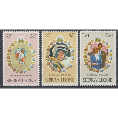 Sierra Leone - Lady-Di - yt.472/74 neufs ** - Cote €3.70