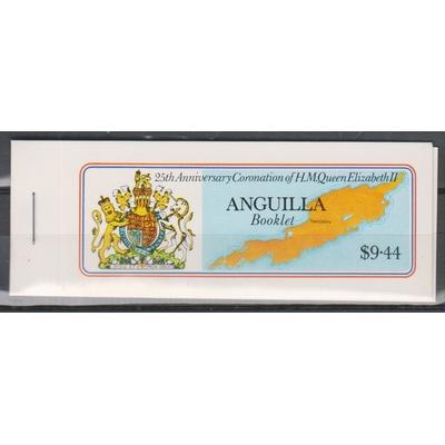 Anguilla - Elizabeth II - Carnet neuf ** de 1978 - Cote €7