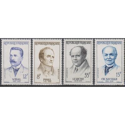 France - Grands médecins - yt.1142/45 neufs ** - Cote €6