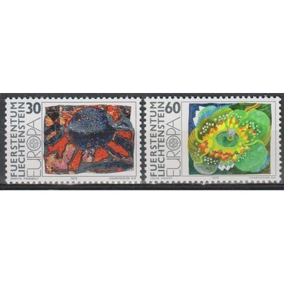 Liechtenstein - Europa 1975 neufs ** - cote €1.50