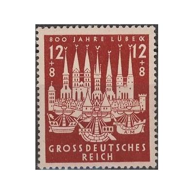 Allemagne - Lübeck - yt.781 neuf ** - Cote €1
