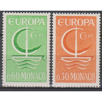 Monaco - Europa 1966 neufs ** - Cote €2,20