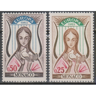 Monaco - Europa 1963 neufs ** - cote €4