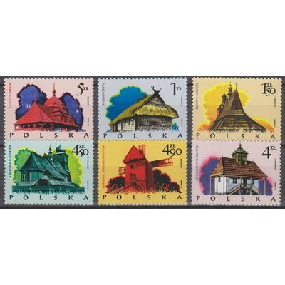 Pologne - Musée - yt.2142/47 neufs ** - Cote €3.10