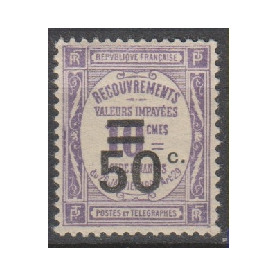 France - Timbre-taxe - yt.T51 neuf ** - Cote €11