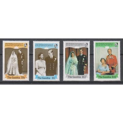Gambie - Elizabeth II - yt.694/97 neufs ** - Cote €7