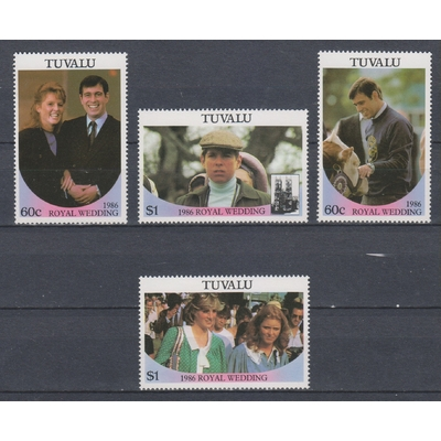 Tuvalu - Royauté - yt.377/80 neufs ** - Cote €6.50