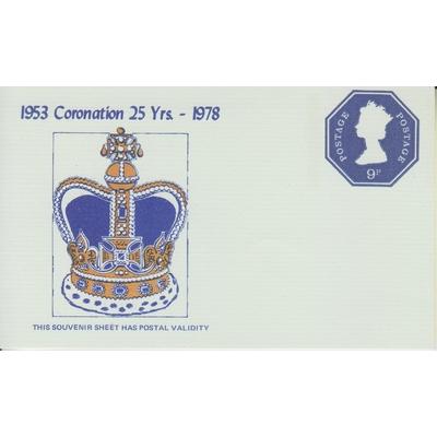 Grande Bretagne - Feuillet à validité postale neuf ** numéroté de 1978