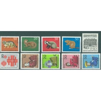 Berlin - Année complète 1968 neuves ** - Cote €7.00