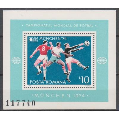 Roumanie - Football - yt.BF114 neuf ** - Cote €9