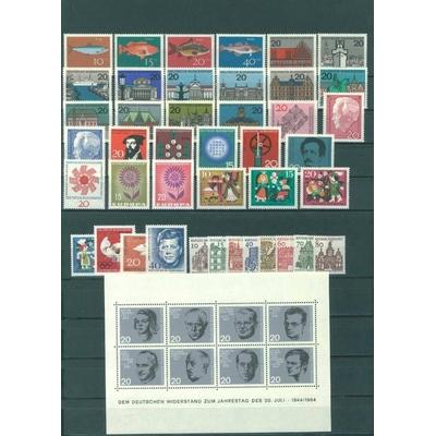 Allemagne - Année 1964 neuve ** - Cote €31