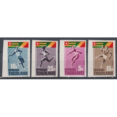 Togo - Sports - yt.453/56 neufs ** non dentelés