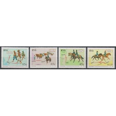 Afrique du Sud - Journée du timbre - yt.825/28 neufs ** - Cote €4