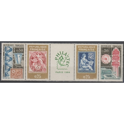 France - Exposition - yt.1414/17 neufs ** - Cote €2.20
