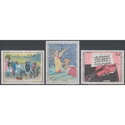 France - Tableaux - yt.1457/59 neufs ** - Cote €1.50