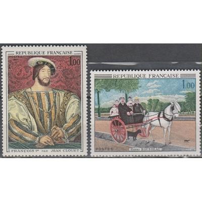 France - Tableaux - yt.1517/18 neufs ** - Cote €1