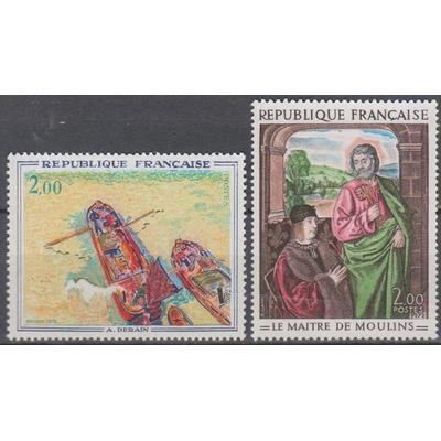 France - Tableaux - yt.1732/33 neufs ** - Cote €4