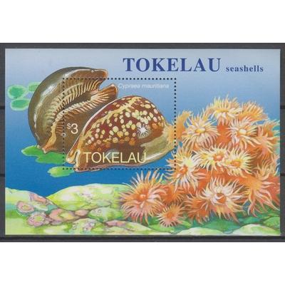 Tokelau - coquillages - Feuillet neuf ** - Cote €6