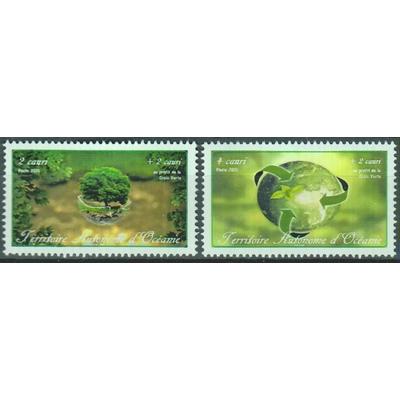Croix Verte - Territoire Autonome d'Océanie