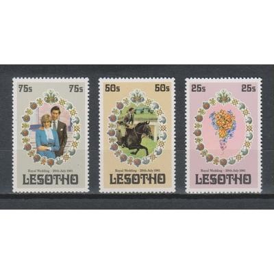 Lesotho - Lady Di - yt.456/58 neufs ** - Cote €4.25