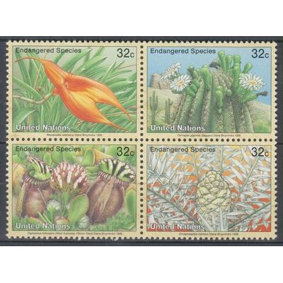 Nations-Unies - Flore - yt.695/98 neufs ** - Cote €7.60