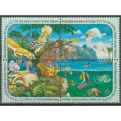 Nations-Unies - Nature - yt.118/21 neufs ** - Cote €7