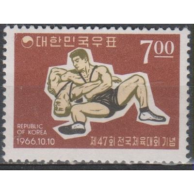 Corée du Sud - Sport - yt.438 neuf ** de 1966 - cote €3