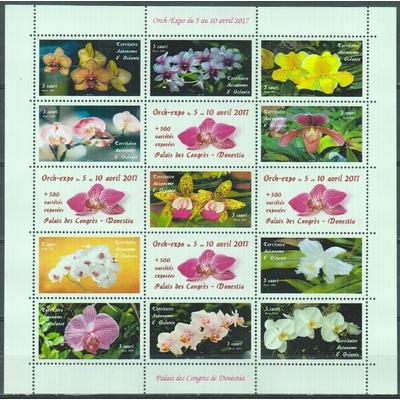 Orchidées - Territoire Autonome d'Océanie