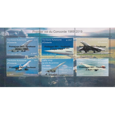 Concorde - Surcharge Prototype 001 - Edition limitée - Territoire Autonome d'Océanie