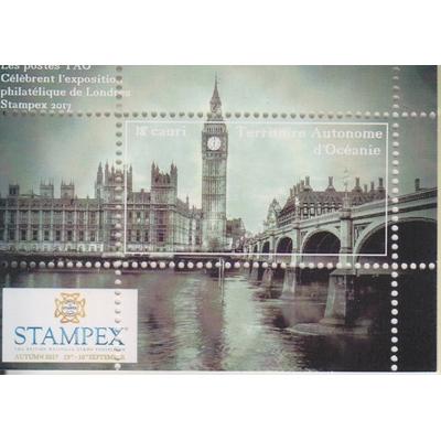 Stampex 2019 - Londres - Feuillet neuf ** - Territoire Autonome d'Océanie