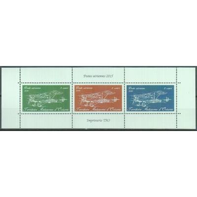 Poste aérienne - Feuillet papier brillant - Territoire Autonome d'Océanie
