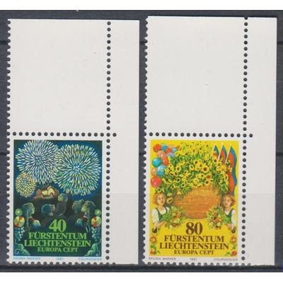 Liechtenstein - Europa 1981 - yt.705/06 neufs ** - Cote €2.25