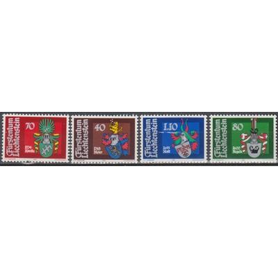 Liechtenstein - Armoiries - yt.707/10 neufs ** - Cote €5