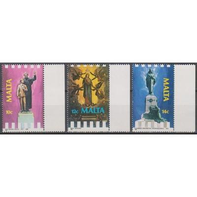 Malte - Religions - yt.770/72 neufs ** - Cote €5.50