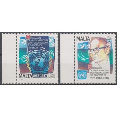 Malte - Nations-Unies - yt.763/64 neufs ** - Cote €4.50