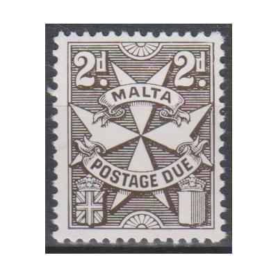 Malte - Timbre taxe à identifier - Timbre neuf **