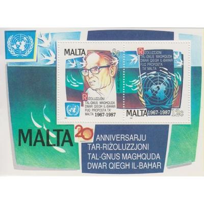 Malte - Onu - yt.BF10 neuf ** - Cote €5