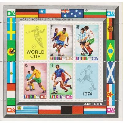 Antigua - Football - yt.BF16 neufs ** - Cote €3
