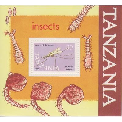 Tanzanie - Insectes - yt.BF53 neuf ** - Cote €6