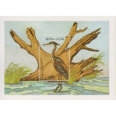Sierra Leone - Oiseaux - yt.BF78 neuf ** - Cote €8