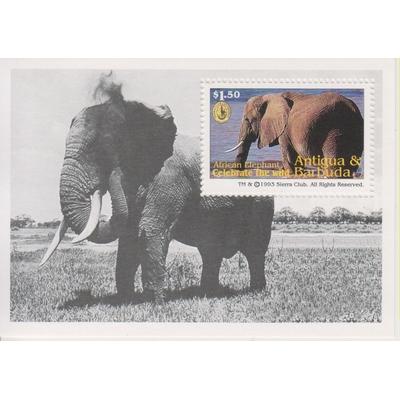 Antigua - Elephants - yt.BF280 neuf ** - Cote €3