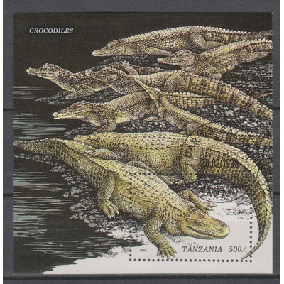 Tanzanie - Crocodiles - yt.BF288 - Cote €2,50