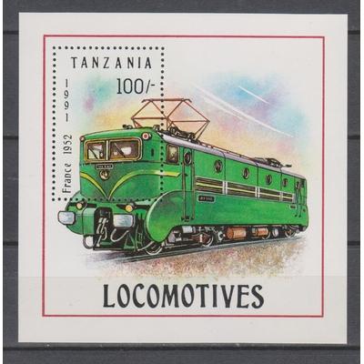 Tanzanie - Locomotive de France - yt.BF140 neuf ** - Cote €2,50