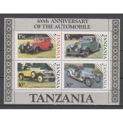 Tanzanie - Automobiles - yt.BF42 neuf ** - Cote €7