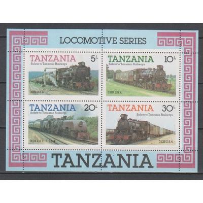 Tanzanie - Locomotives - yt.BF41 neuf ** - Cote €13