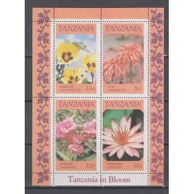 Tanzanie - Fleurs - yt.BF46 neuf ** - Cote €7