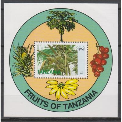 Tanzanie - Noix de coco - yt.BF252 neuf ** - Cote €3.50